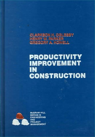 9780070478022: Productivity Improvement in Construction (Mcgraw Hill Series in Construction Engineering and Project Management)