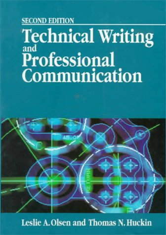 9780070478237: Technical Writing and Professional Communication