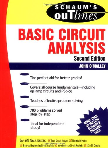 9780070478244: Schaum's Outline of Basic Circuit Analysis (Schaum's Outline Series)