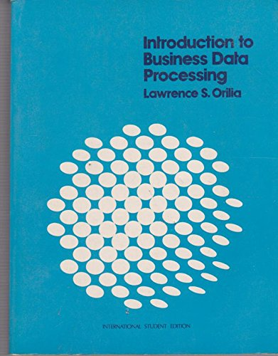 9780070478305: Introduction to Business Data Processing