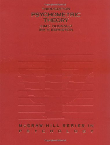9780070478497: Psychometric Theory