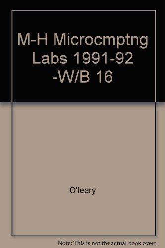 9780070478992: M-H Microcmptng Labs 1991-92 -W/B 16