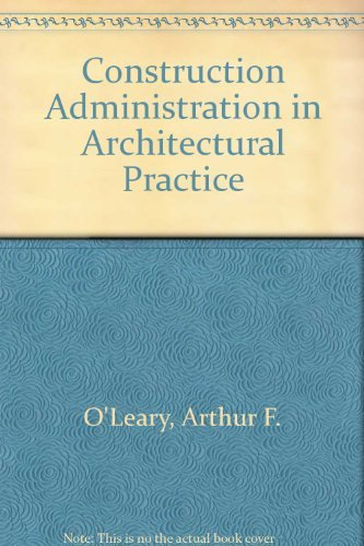 9780070479036: Construction Administration in Architectural Practice