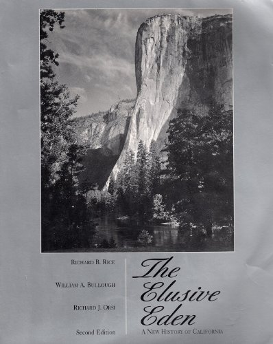9780070479081: The Elusive Eden: A New History of California
