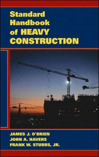 9780070479715: Standard Handbook of Heavy Construction