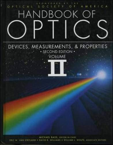 Handbook of Optics: Optical Society of