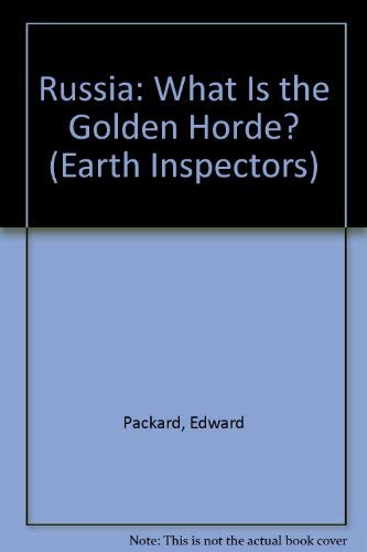 9780070480049: Russia: What Is the Golden Horde? (Earth Inspectors)