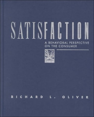 9780070480254: Satisfaction: A Behavioral Perspective on the Consumer (Mcgraw-Hill Series in Marketing)