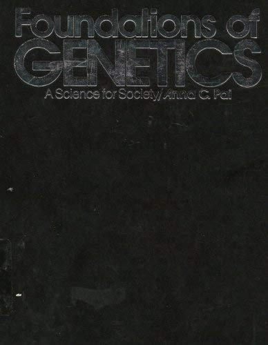 9780070480933: Foundations of Genetics: A Science for Society