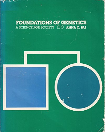 9780070480940: Foundations of Genetics: A Science for Society