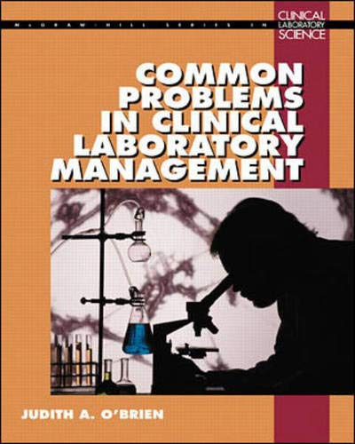 9780070482654: Common Problems in Clinical Laboratory Management