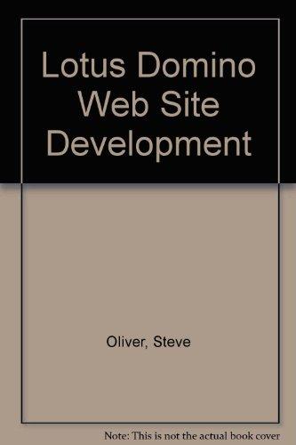 9780070482685: Lotus Domino Web Site Development