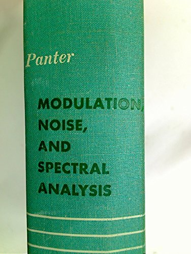Modulation Noise and Spectral Analysis Applied to: Philip Panter.
