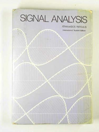 9780070484603: Signal Analysis