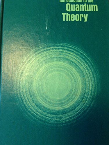 9780070484795: Introduction to the Quantum Theory