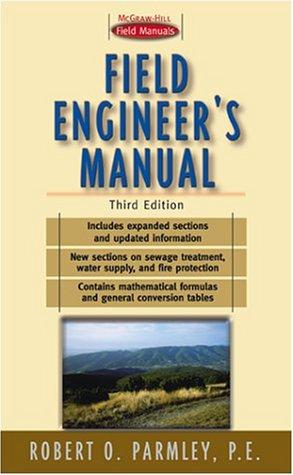 9780070485792: Field Engineer's Manual