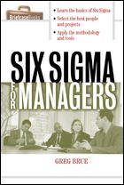 9780070486393: SIX SIGMA FOR MANAGERS