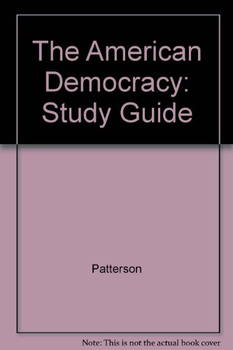 9780070488502: The American Democracy: Study Guide