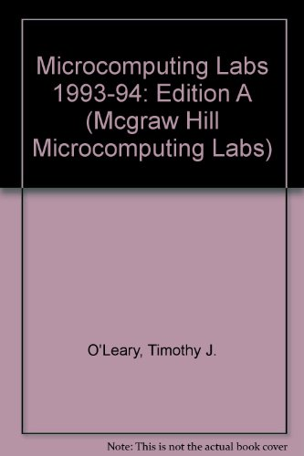 9780070488670: Microcomputing Labs/Edition A (Mcgraw Hill Microcomputing Labs)