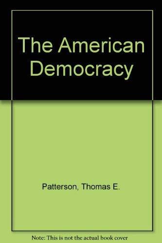 9780070489066: The American Democracy
