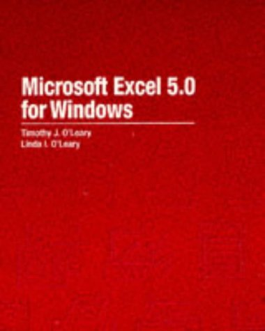9780070489905: Microsoft Excel 5.0 for Windows