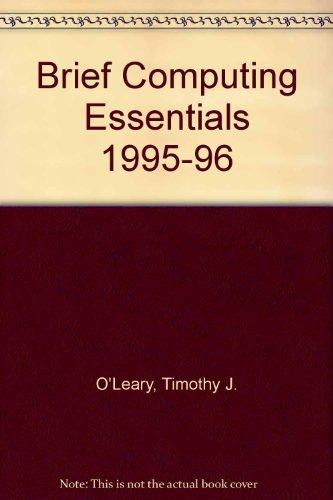 9780070490338: Brief Computing Essentials 1995-96