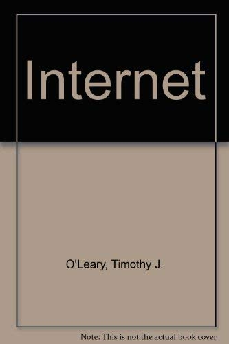 9780070490932: O'Leary Series:  Internet