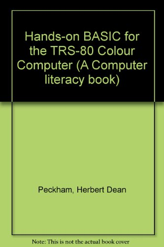 9780070491595: Hands-on BASIC for the TRS-80 Colour Computer (A Computer literacy book)