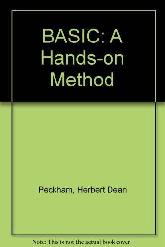 9780070491601: Basic: A Hands-On Method
