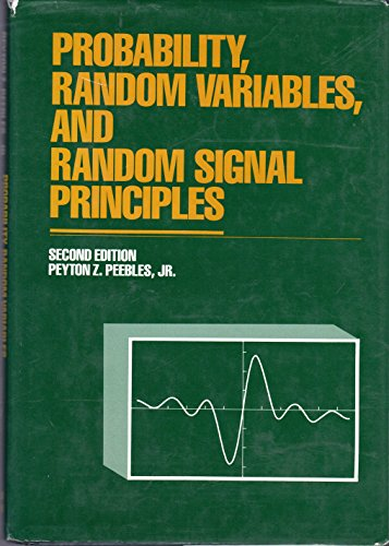 9780070492196: Probability, Random Variables and Random Signal Principles (McGraw-Hill series in electrical engineering. communications and signal processing)