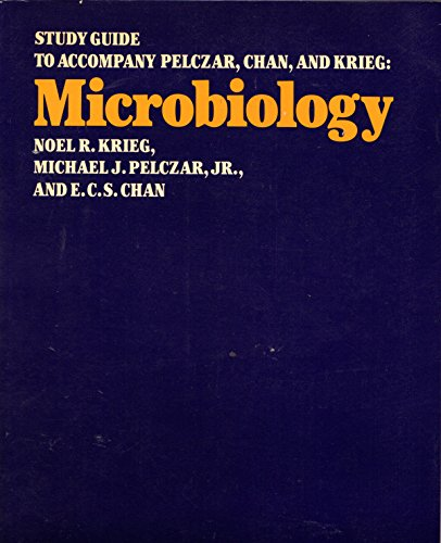 9780070492363: Study guide to accompany Pelczar, Chan, and Krieg : Microbiology