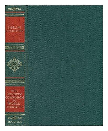9780070492752: The Penguin companion to English literature (The Penguin companion to world literature)