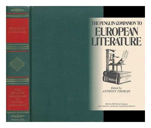 9780070492790: The Penguin companion to European literature (Penguin companion to world literature)