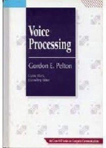 9780070493094: Voice Processing (Uyless Black Series on Computer Communications)