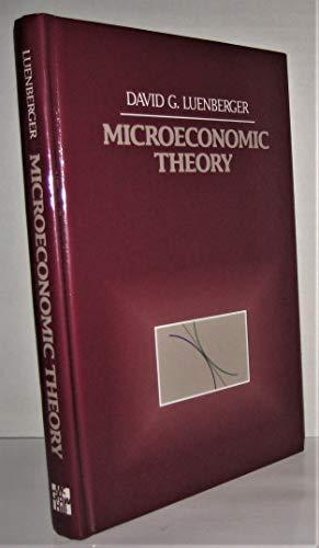 9780070493131: Microeconomic Theory