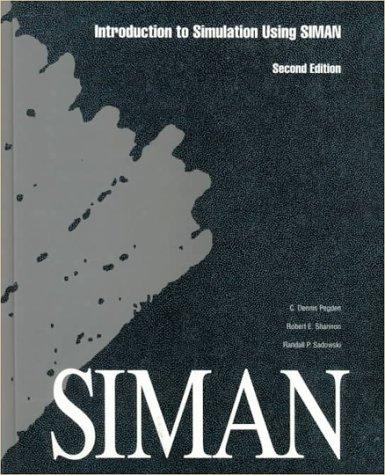 Introduction to Simulation Using SIMAN: Randall P. Sadowski;