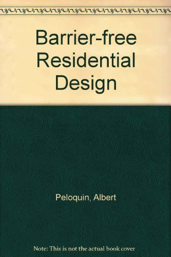 9780070493261: Barrier-Free Residential Design