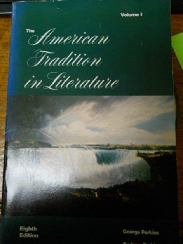 9780070493667: The American Tradition in Literature: 001