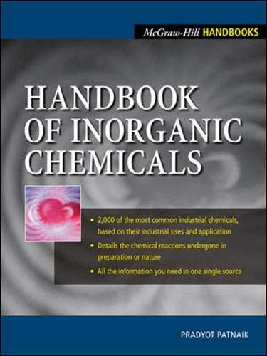 9780070494398: Handbook of Inorganic Chemicals