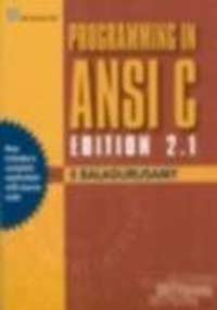 9780070494671: Programming in ANSI C Edition 2.1