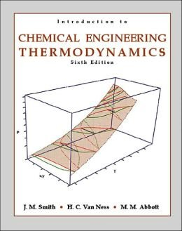9780070494862: Introduction to Chemical Engineering Thermodynamics 6th edition (TATA McGraw-Hill Edition)