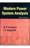 Modern Power System Analysis: D. P. Kothari