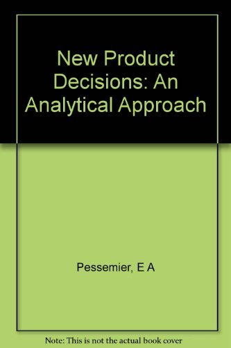 9780070495173: New Product Decisions: An Analytical Approach