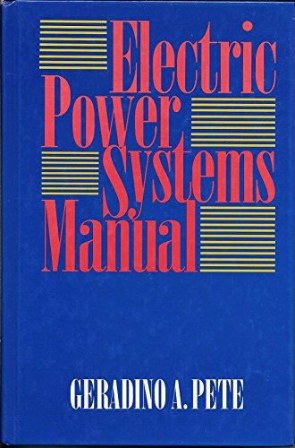 9780070495302: Electric Power Systems Manual