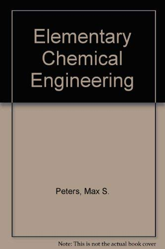 9780070495852: Elementary Chemical Engineerin