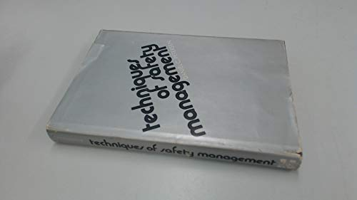 9780070495951: Techniques of safety management