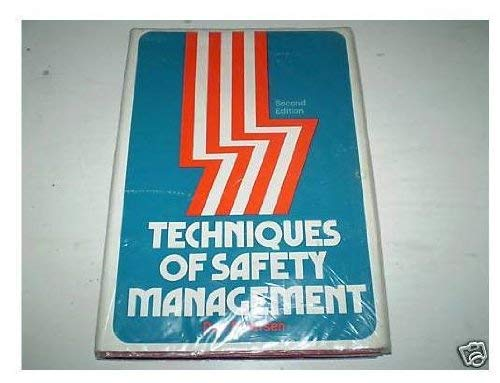9780070495968: Techniques of Safety Management