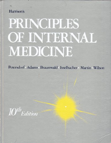 Harrisons Principles Of Internal Medicine Book