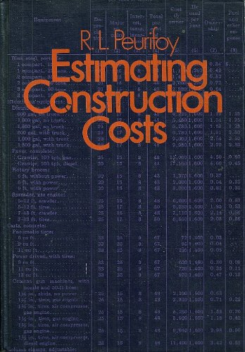 9780070497382: Estimating construction costs