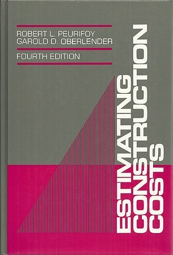 9780070497405: Estimating Construction Costs (The McGraw-Hill series in construction engineering & project management)
